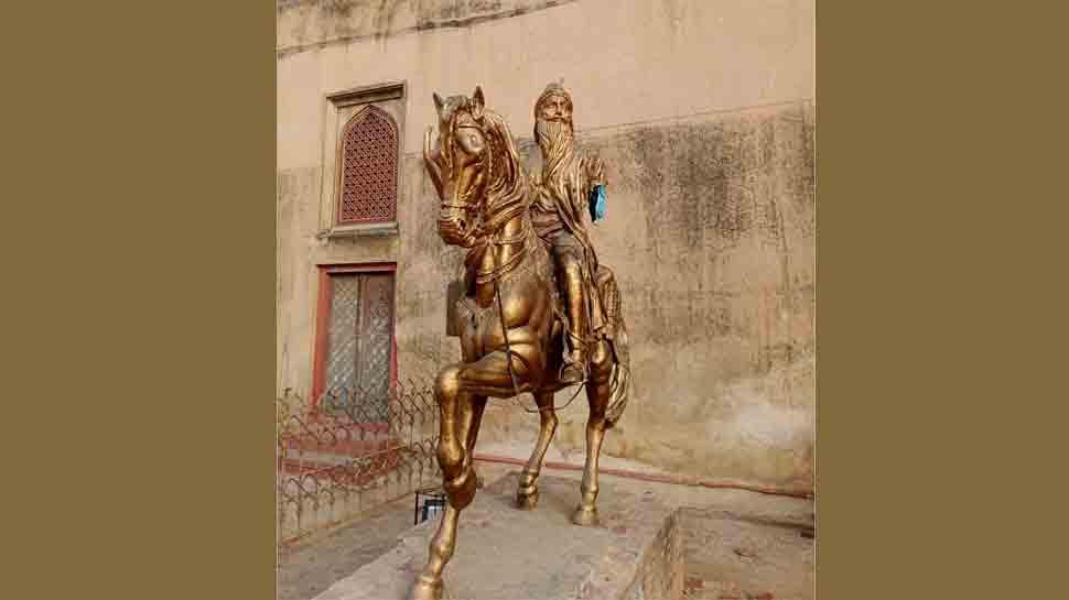 माहाराजा रणजित सिंहको मूर्ती तोडफोड, एक जना पक्राउ
