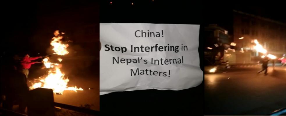 ब्याक अफ चाइना : नेपालको आन्तरिक मामिलाबाट टाढा रहन चीनलाई चेतावनी !