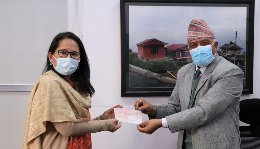 भूकम्प प्रभावित विद्यालय पुननिमार्णका लागि भारतको ३० करोड सहयोग