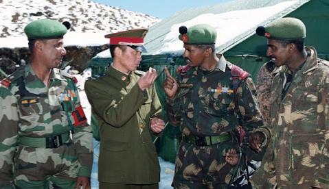 सिक्किम क्षेत्रमा घुस्न खोज्दा चिनियाँ सैनिकलाई धपायो भारतीय सेनाले,२० चिनियाँ सैनिक घाईते
