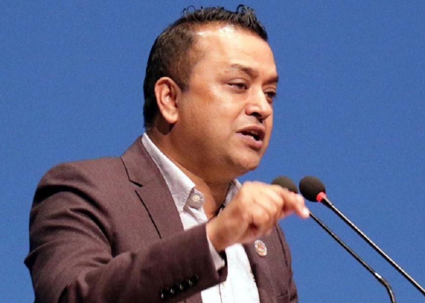 गगन थापाले काठमाडौंमा दिए कांग्रेस फुटेको झल्को, आफ्नै पार्टीका अरु समूहलाई निषेध