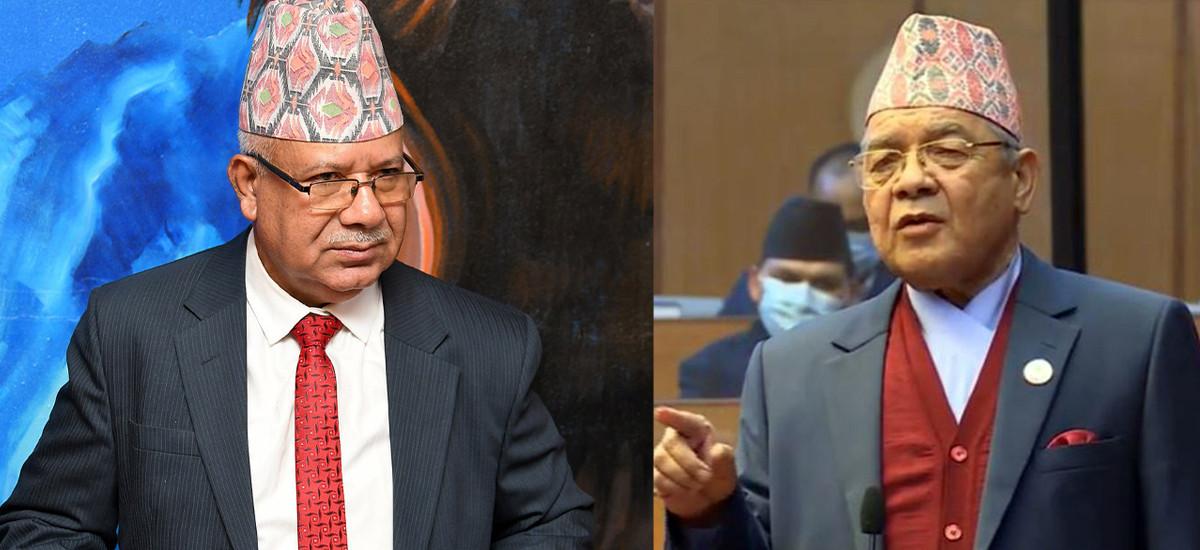 नेता नेपालमाथि गम्भीर आशंका, काठमाडौं ओर्लिने बितिक्कै बामदेवलाई काखी च्यापे !