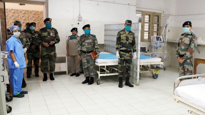 भारतीय सेनाद्धारा नयाँ दिल्लीस्थित सैन्य अस्पताललाई कोभिड अस्पतालमा रुपान्तरण