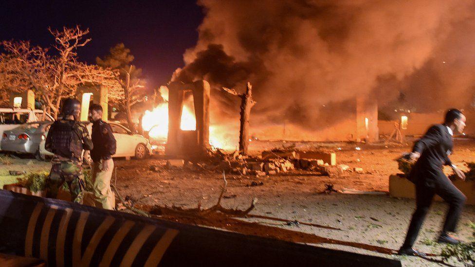 पाकिस्तानमा बम विष्फोट, चिनियाँ नागरिकसहित १२ को मृत्यु