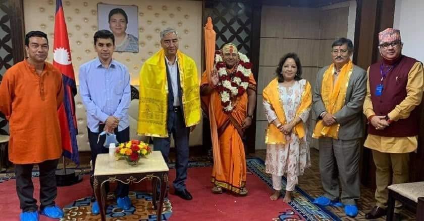 प्रम देउवाबारे भारतीय धर्मगुरुको चकित पार्ने भविष्यवाणी, बालुवाटारमा खुसियाली