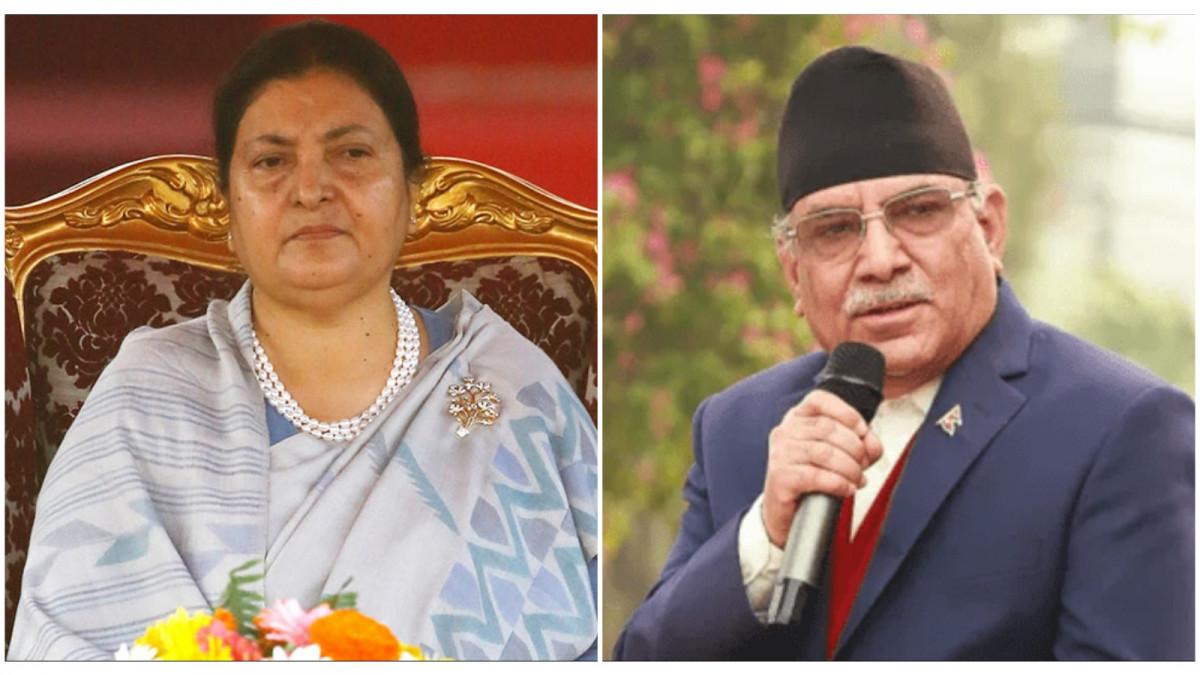 प्रचण्डलाई एमालेको कडा चुनौती : राष्ट्रपतिलाई छोए उपराष्ट्रपति र सभामुख बाँकी नरहने