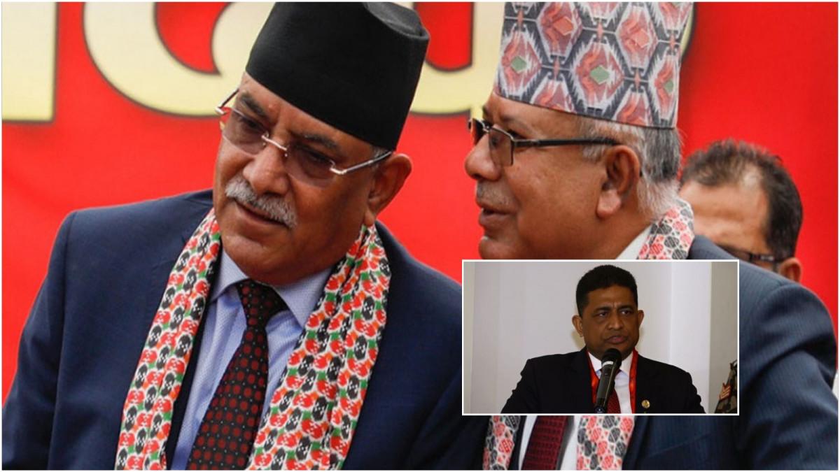 अहिलेको परिस्थितिको मुख्य जिम्मेवार प्रचण्ड र माधव नेपाल, राष्ट्रपति कार्यालयमा भएको त्यो प्रयासले सिध्यायो एमालेलाई