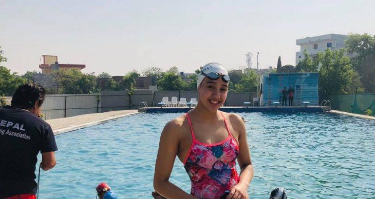 ओलम्पिक : गौरिकाको राष्ट्रिय कीर्तिमान