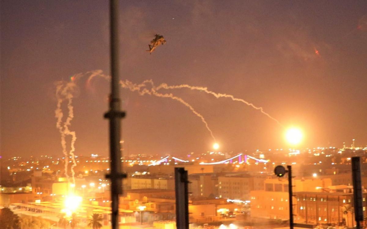 ग्रीन जोन स्थित अमेरिकी दूतावास नजिक भयाे रकेट आक्रमण