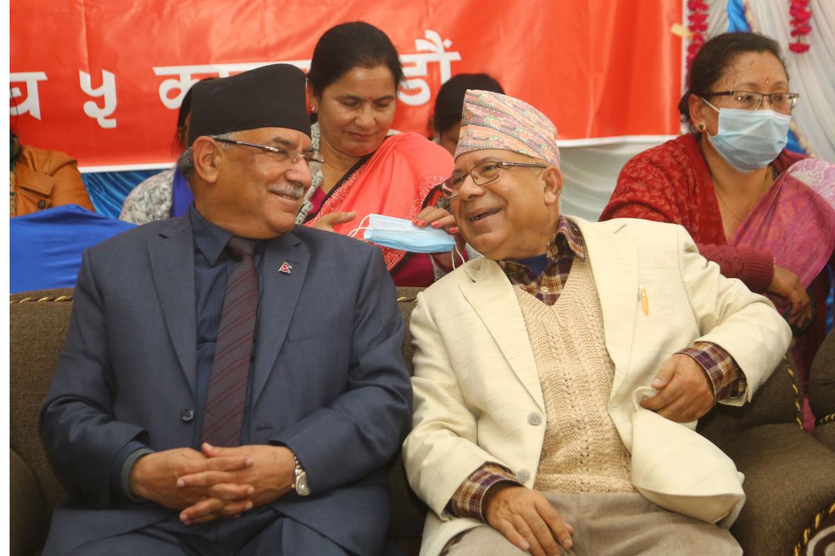 एमाले एकता नहुने भएपछि प्रचण्ड खुसी, माधव नेपाल भेट्न कोटेश्वर पुगे