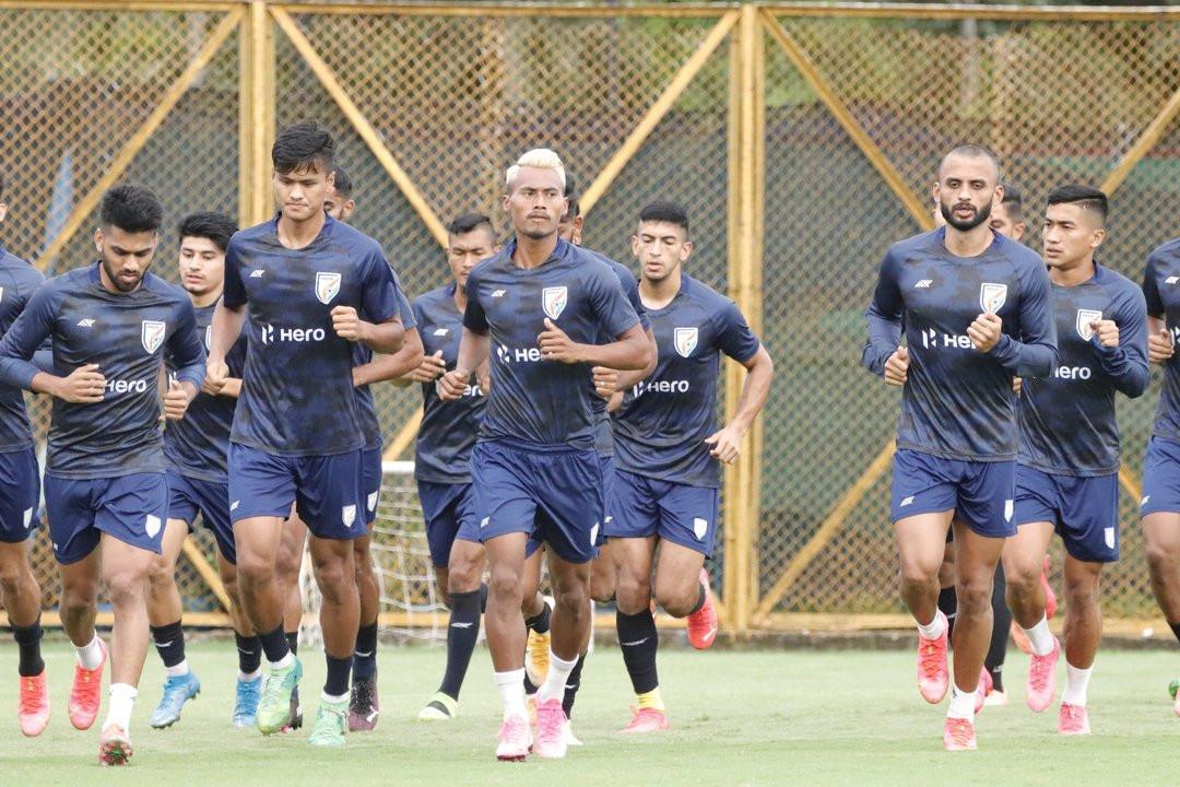 नेपालविरुद्ध भारतले सार्वजीनक गर्याे फुटबल टोली