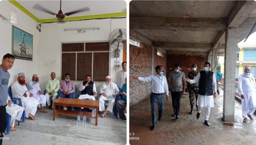 कृष्ण जन्माष्टमीका दिन मस्जिदको भ्रमणमा प्रदेश २ का मुख्यमन्त्री, बहुसंख्यक आस्थामाथि प्रहार