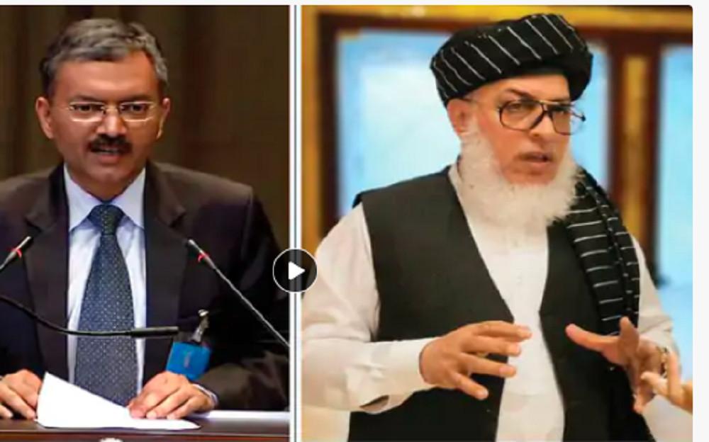 तालिबानसँग भारतले गर्याे पहिलो औपचारिक वार्ता