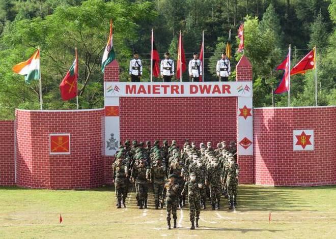 नेपाल र भारतीय सेनाले गर्याे संयुक्त सैन्य अभ्यास