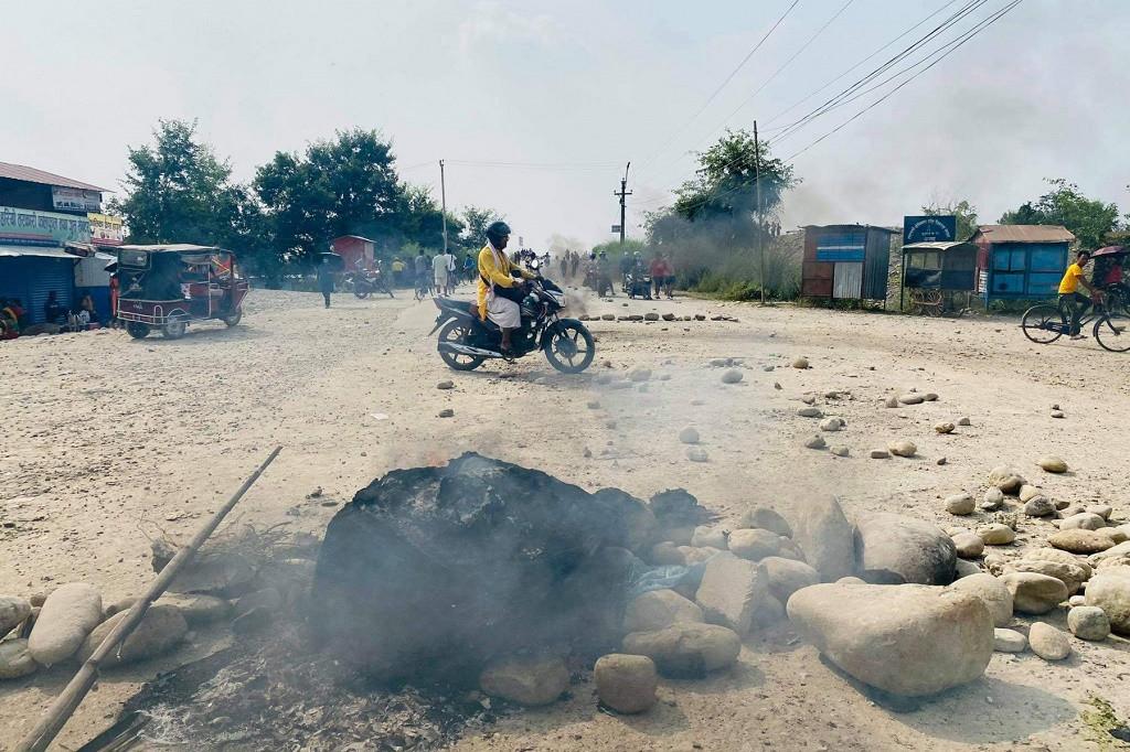 सुकुम्बासी बस्तीमा प्रहरीले गोली चलायो, तीन जनाको मृत्यु