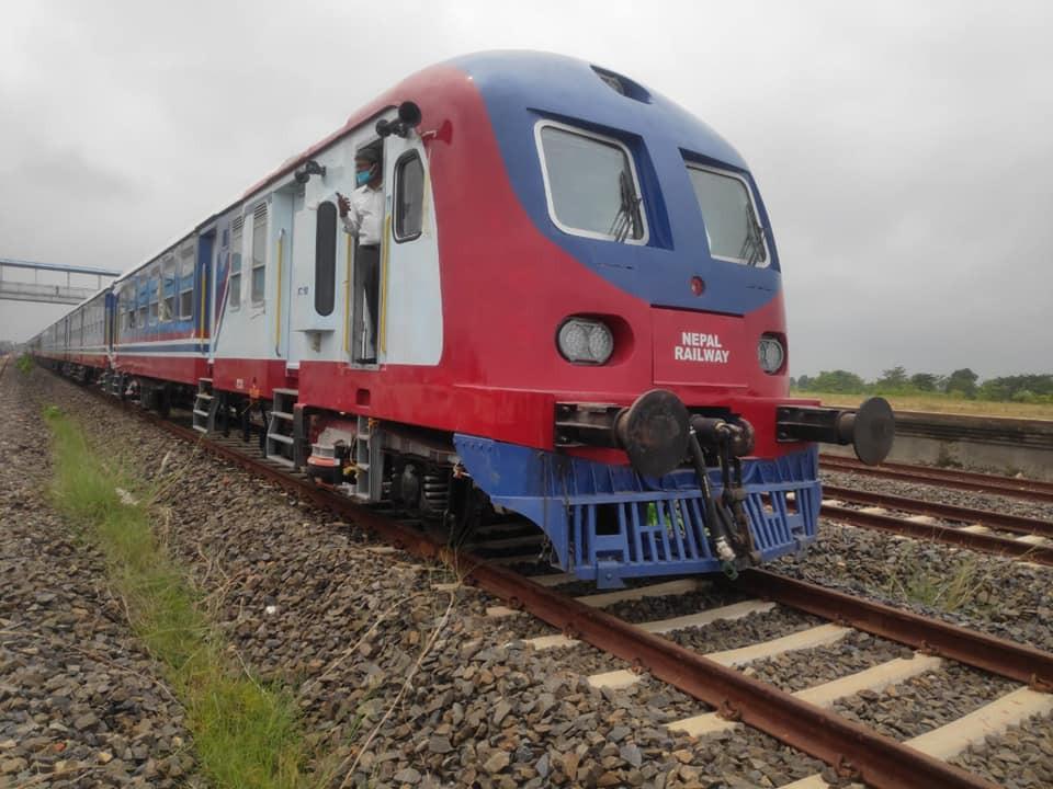 रेल सञ्चालन गर्न भारतीय कम्पनीलाई सरकारले ७ करोड दियो