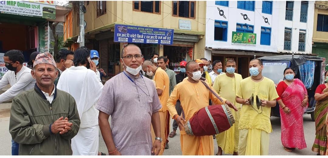 बंगलादेशमा हिन्दु समुदायमाथि भएको आक्रमणविरुद्ध नेपालमा ठूलो प्रदर्शन, कुटनीतिक पहल गर्न माग